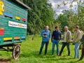 Wie die Firma Steinicke die Dunkle Biene zurück ins Wendland brachte